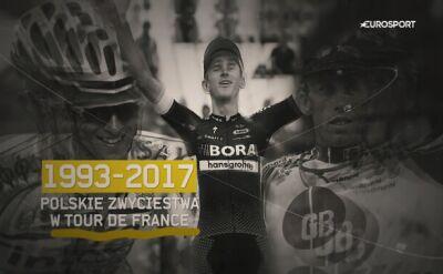 Polskie zwycięstwa w Tour de France
