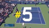 US Open 2019 - 5 najlepszych lobów