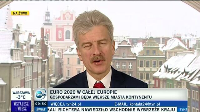 Prezydent Poznania o Euro 2020