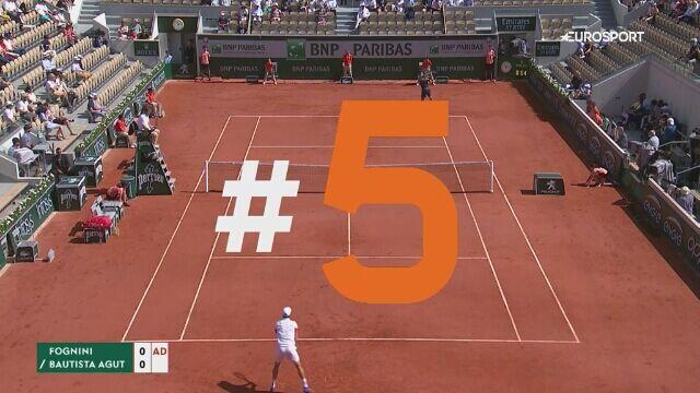 Najlepsze wymiany siódmego dnia French Open