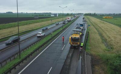 Remont autostrady A4 rozpoczął się w drugiej połowie maja