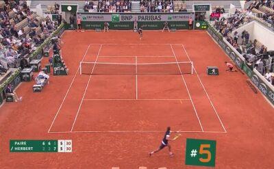 Najlepsze zagrania 4. dnia French Open