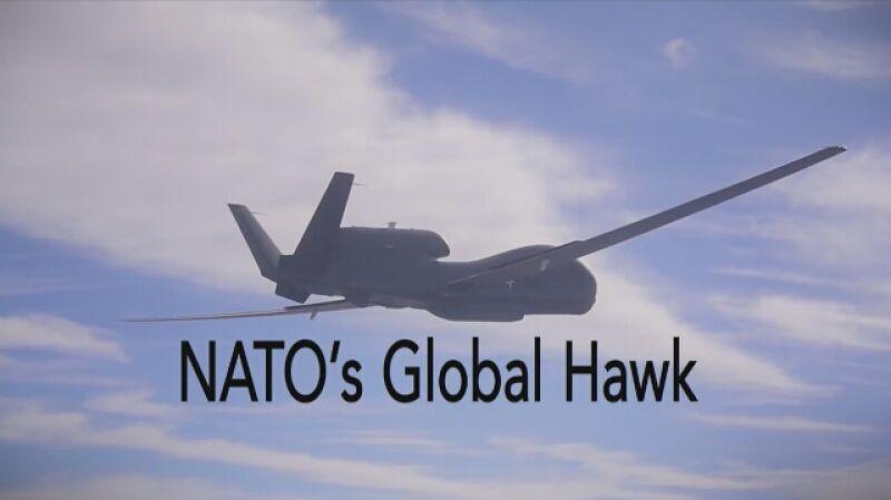 Pierwszy lot nowego drona NATO