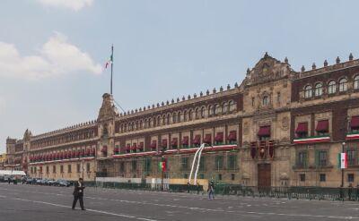 Strzelaninia obok siedziby prezydenta Meksyku