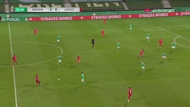 Hwang daje RB Lipsk prowadzenie w dogrywce półfinału Pucharu Niemiec