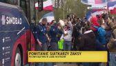 Powitanie siatkarzy Zaksy w Kędzierzynie-Koźlu