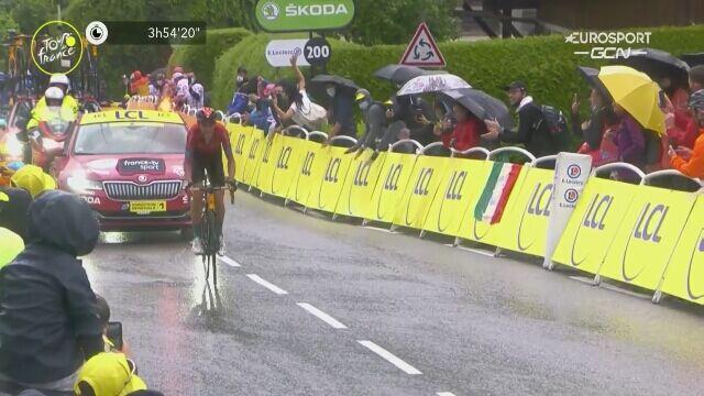 Dylan Teuns wygrał 8. etap Tour de France