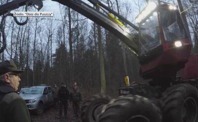 Patrole ekologów sprawdzają m.in. pracę harwesterów