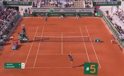 Najlepsze zagrania 9. dnia French Open