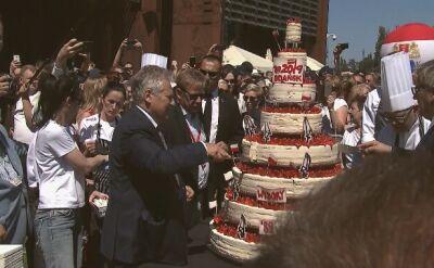 Tort na rocznicę 4 czerwca