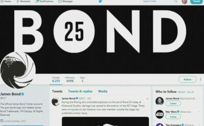 Jedna osoba ranna podczas kontolowanej eksplozji na planie nowej części przygód Bonda