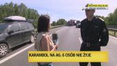 Karambol na S3, sześć osób nie żyje. Droga jest zablokowana