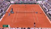 Skrót meczu Djoković - Zverev w ćwierćfinale Roland Garros