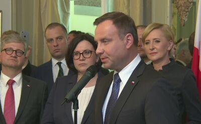 """Prezydent Duda w Norwegii. """"Kiedy przyjeżdżacie do Polski, jesteście u siebie"""""""