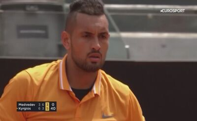 Kyrgios awansował do drugiej rundy turnieju ATP w Rzymie