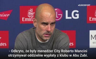 """Guardiola wściekły na konferencji. """"Naprawdę zadajesz mi takie pytanie?"""""""