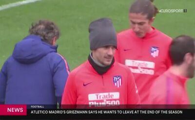 Griezmann zapowiedział odejście z Atletico Madryt