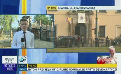 Papież Franciszek w Polsce. Odwiedzi Auschwitz i szpital dziecięcy