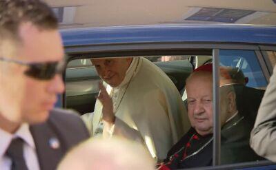 Papież wyruszył do Brzegów