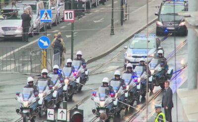 Papież Franciszek w drodze na krakowskie Błonia