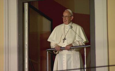 Papież Franciszek na Franciszkańskiej