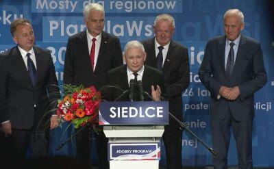 """""""Polska szans to Prawo i Sprawiedliwość. Jej sojusznicy, to ci z prawej strony"""""""