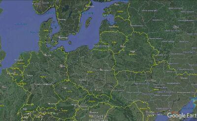Do kolizji kolumny rządowej doszło w Imielinie w województwie śląskim