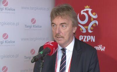 """Zbigniew Boniek podczas konferencji """"Bezpieczny stadion"""""""