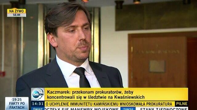 Mariusz Kamiński zachował immunitet