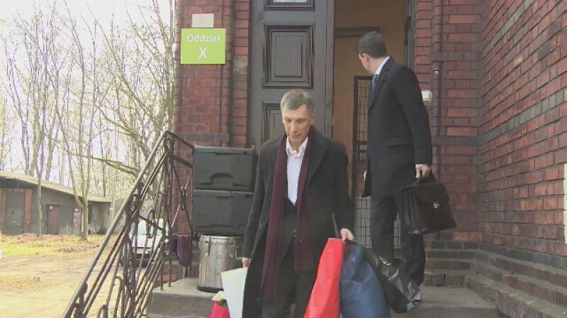 Stanisław Belski wychodzi ze szpitala psychiatrycznego