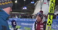 Kamil Stoch po kwalifikacjach w Predazzo
