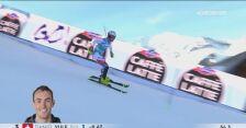 Drugi i zwycięski przejazd Daniela Yule w Adelboden