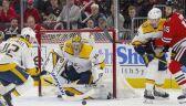 Pekka Rinne strzelił gola w meczu Nashville Predators - Chicago Blackhawks - NHL 2019/2020