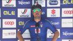 Sonny Colbrelli po wygranym wyścigu o tytuł szosowego mistrza Europy