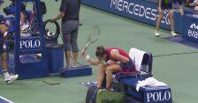 Sabalenka w furii rozwaliła swoją rakietę w półfinale US Open