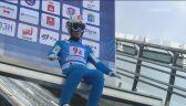 Skok Graneruda w 2. serii konkursu drużyn mieszanych w Czajkowskim