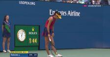 Przerwa medyczna Raducanu w finale US Open