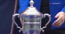 Emma Raducanu odebrała trofeum za zwycięstwo w US Open