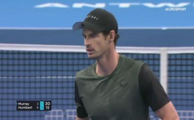 Murray w finale turnieju ATP w Antwerpii