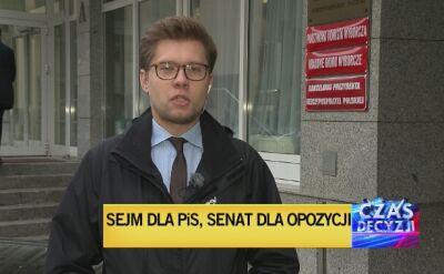 Podsumowanie wyników głosowania do Sejmu i Senatu