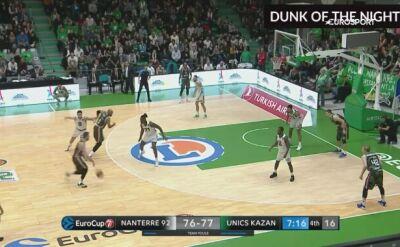 Akcja wieczoru w EuroCupie. Wsad rodem z NBA
