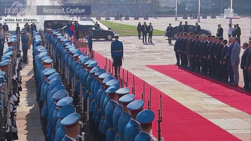 """Premier Rosji w Belgradzie o """"suwerenności Serbii"""""""