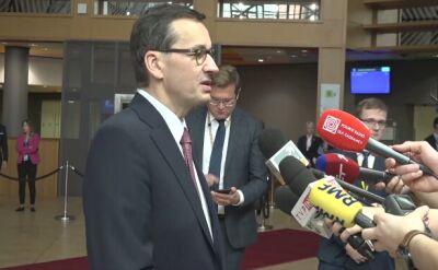 Morawiecki: Unia obiecała krajom Bałkanów Zachodnich rozszerzenie