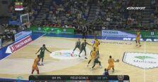 Skrót meczu Unicaja Malaga - Galatasaray w 3. kolejce Pucharu Europy
