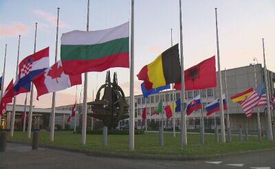 Kwatera główna NATO w żałobie