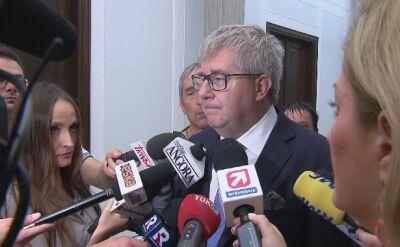 Cała rozmowa z Ryszardem Czarneckim o lotach marszałka Kuchcińskiego
