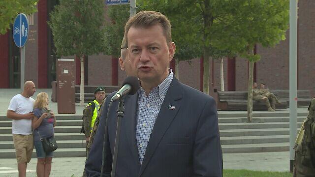 Błaszczak: to Ślązacy zdecydowali, że ich celem jest to, aby Śląsk był częścią Polski