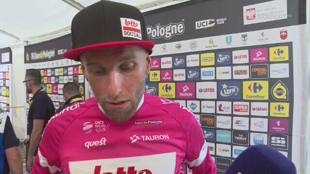 Tomasz Marczyński po 6. etapie Tour de Pologne