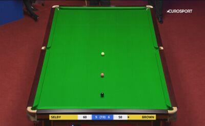Mark Selby wygrał w 1. rundzie MŚ z Jordanem Brownem