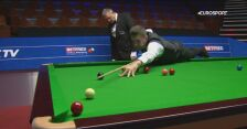 Brejk 120 Marka Selby'ego w meczu z Jordanem Brownem